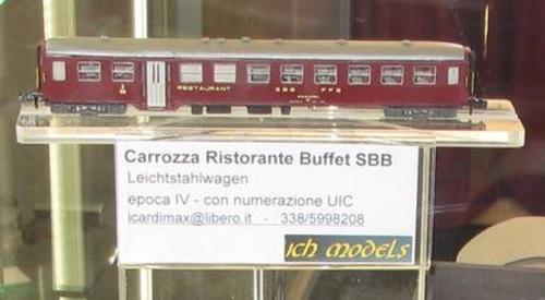 La carrozza Buffet SBB CHModels - Foto © Christian Cicognani