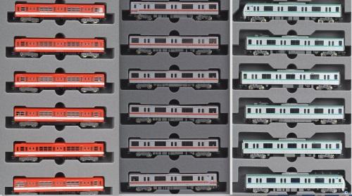 I tre set di metropolitana citati