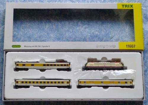 Confezione Minitrix 11607, treno di servizio