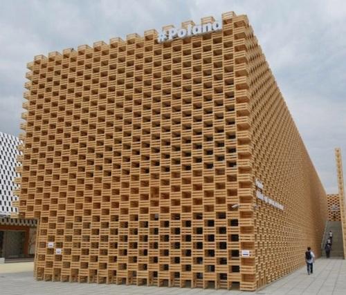 Il padiglione della Polonia all'Expo