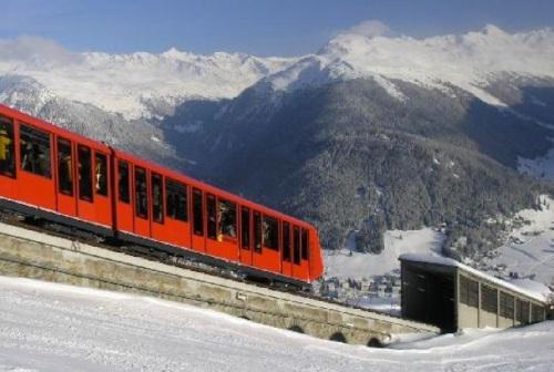 Parsennbahn, la funicolare di Davos. Foto da cmbtravel.ro