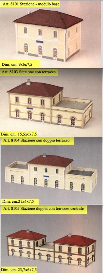 Vari edifici di stazione CLM