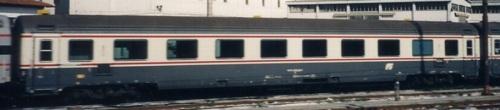 GC compartimenti Tipo 1985 vista lato corridoio a Firenze nel 1993 -Foto © Durvaux Christophe