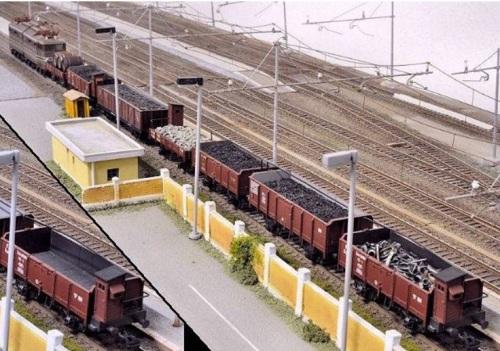 Modellino di treno merci - Foto O.Lidomici da www.scalatt.it