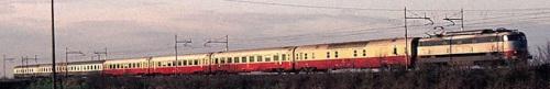 R 906 ad Arquà nel 1982 - composizione comprendente GC TEE e CD Bandiera - Foto © Paulatti