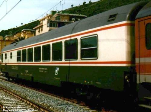 GC Ristorante Tipo 1979 nel 19977, lato cucina Foto © Accomando da railfaneurope.net
