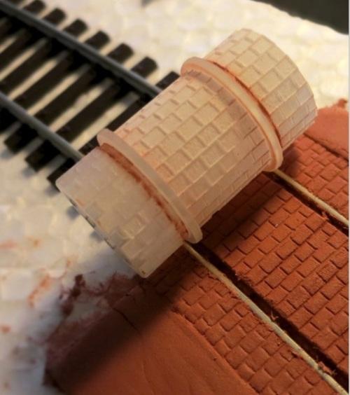 Stampo cilindrico per pavimentazione