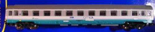 Z1 ex seconda a compartimenti in livrea ECI di Eurorail models.