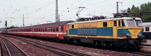 Treno SNCB in livrea C1 - Foto © Ferry Van Schagen da drehscheibe-online.de