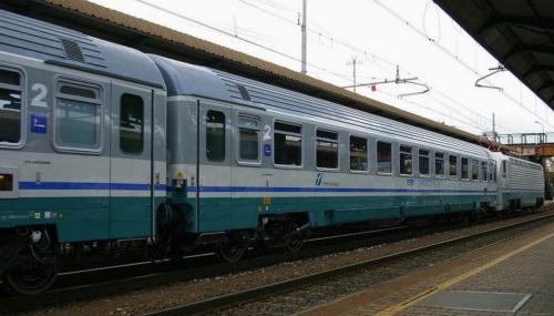 Convoglio in Livrea ECI a Firenze nel 2006 - Foto © Ernesto Imperato da trenomania