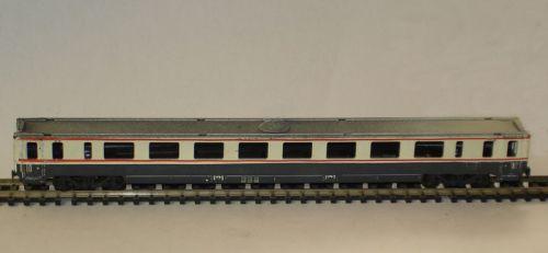 Il prototipo della GC Bandiera di SAFER privo del tetto. Immagine da www.amiciferroviact.it