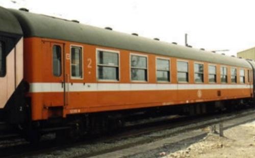Carrozza I4 - B9, ex A9 declassata della SNCB - Foto © D.Piron da www.lsmodels.com