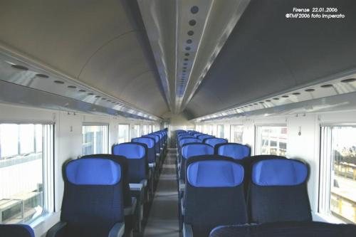 Interni di una prima classe - Foto E.Imperato da trenomania