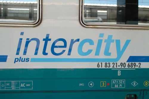 Logo Intercity Plus - foto © da www.bevezetem.hu/