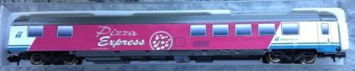 "Pizza Express ""Z1"" cartoncino su ebay"