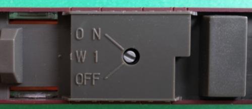 Switch nel sottocassa delle semipilota
