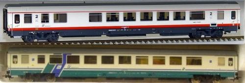 Confronto tra BHR, in alto, e BH, in basso. Modelli ACME.