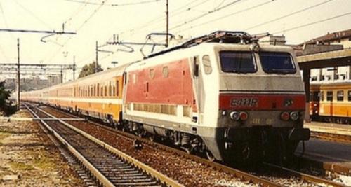 Transito di un convoglio in livrea C1 a Brescia il 10/11/94, Foto © Johannes Smit da flickr