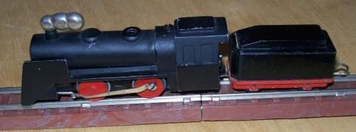Locomotiva a Vapore Mignon. Foto da alte-modellbahnen.xobor.de