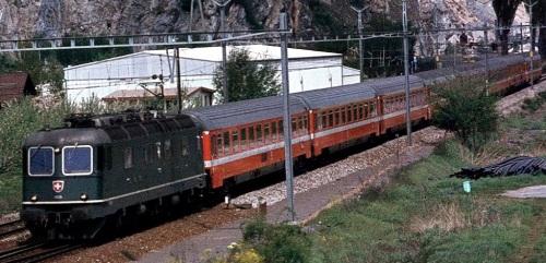 IL Lutetia in Svizzera diretto verso Parigi. Foto da forum.e-train.fr