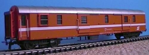 Modello H0 di uno Spanten-Gepäckwagen