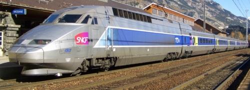 TGV 4593 a Modane, foto da Mediawiki, Creative Commons Florian Pépellin