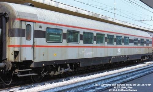 Self Service Tipo 1979, 50 83 88-98 136-9 Foto © Raffaele Bonaca da trenomania