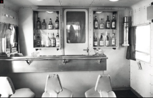"""Angolo bar della """"Belvedere"""" - Foto Fondazione FS"""