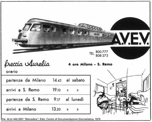 Manifesto pubblicitario AVEV - Da Stagniweb