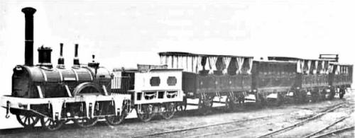 Il Treno della Napoli-Portici, ricostruzione