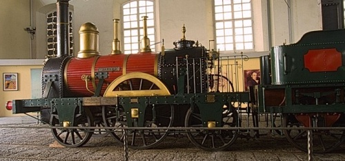 Ricostruzione della Bayard, Museo di Pietrarsa.