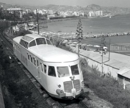 """La """"Belvedere"""" in Riviera - Foto Fondazione FS"""