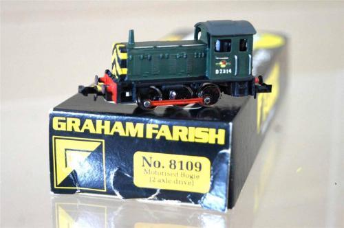 La Graham Farish D04 nella versione povera di dettagli
