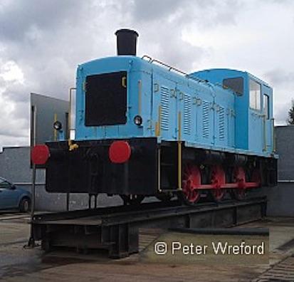La Class 03 monumentata a Terlizzi - Foto © Peter Wreford da http://rcts.org.uk/