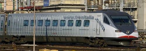 """ETR.480 in livrea """"trenitalia.com"""" nel 2005, foto © Ernesto Imperato da trenomania"""