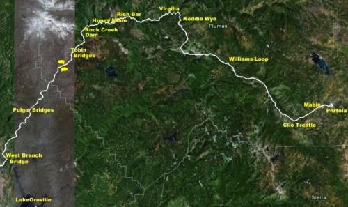 Mappa della Feather River RR, da heidiundwerner.com