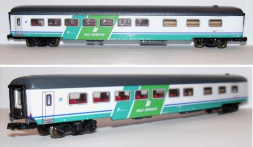 Self Service terza serie XMPR di Original Trains, da ebay