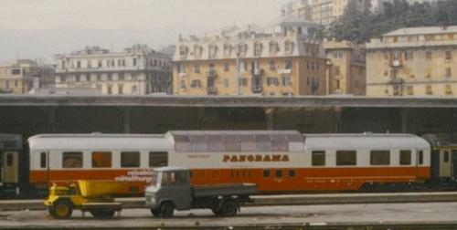 Una Panoramawagen a Genova, 7 maggio 1984. Foto Photo Pierre B da da forum.e-train.fr