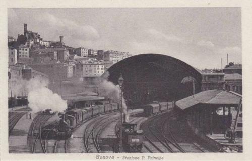 La stazione Principe di Genova