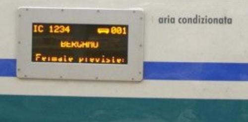 Tabella di Percorrenza elettronica a display su una Progetto IC xxx