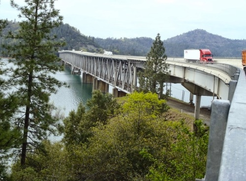 West Branch Feather River Bridge, Oroville, California-Foto CC-BY Mark Yashinsky