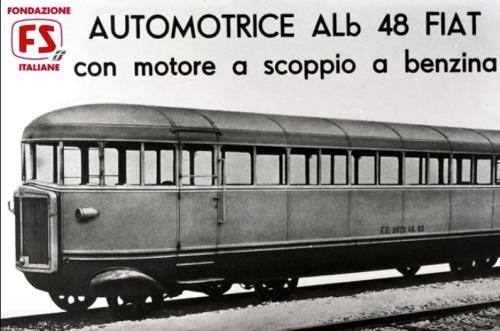 ALb 48: la prima Littorina. Foto Fondazione FS