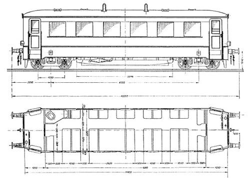 Schema della DWK-Triebwagen, Typ IVa da www.loks-aus-kiel.de