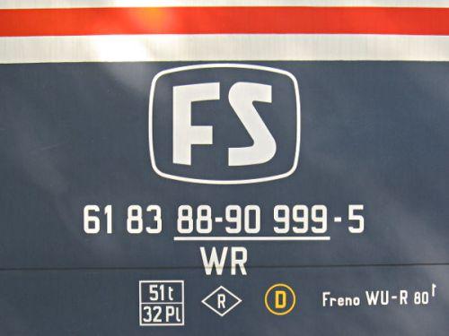 Logo FS e marcatura. Foto da delta-november.it
