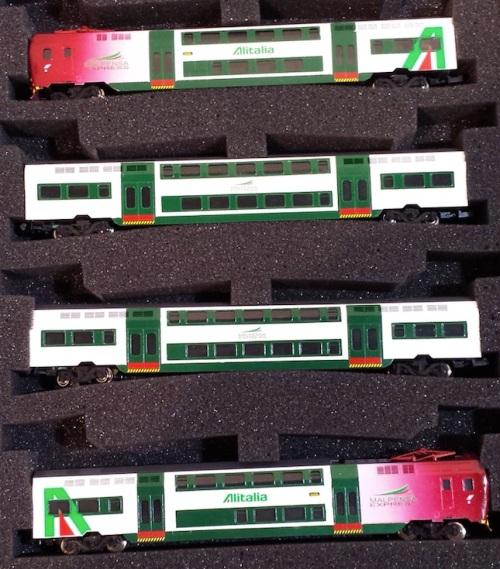 Confezione con i TAF Malpensa Express