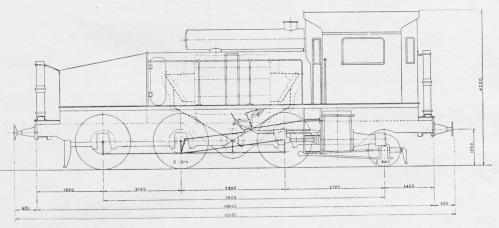 Figurino dell'Ansaldo D.1302