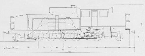 Figurino dell'Ansaldo D.1511