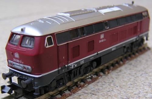 Modello Fleischmann della Br 210