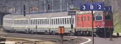 Il Raffaello nel 1998 a Faido - immagine tratta da un video di Televallassina su youtube