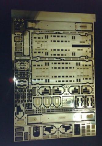 Lastrina del TAF IRmodel